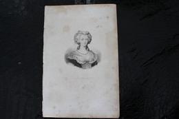 DH / Marie-Antoinette De Habsbourg, Née Le 2 Novembre 1755 à Vienne En Autriche Et Guillotiné à Paris En 1793 /16x24 Cm - Documents Historiques