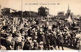 PERROS-GUIREC    LA CLARTÉ  Procession Du 15 Août.  2 Scans   Très Bon état - Perros-Guirec