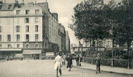 75  PARIS  10e AR   FG DU TEMPLE ET SQUARE LEMAITRE - Arrondissement: 10