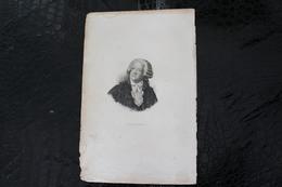 DH /  Mirabeau, Plus Communément Appelé Mirabeau, Né Le 9 Mars 1749 Au Bignon Et Mort Le 2 Avril 1791 à Paris  /16x24 Cm - Documents Historiques
