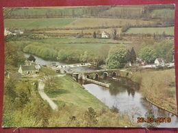 CPSM GF - Laniscat - Bon Repos - Le Vieux Pont, L'écluse Et Le Barrage (Septembre 1969) - Autres Communes
