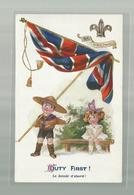 "** .  BOYS-SCOUTS        **--""DUTY  FIRST ! ""-THE SPORT, Habille  Bien ! - Scoutisme"