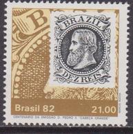 Brasile 1882 Stamp On Stamp Set MNH - Brasile