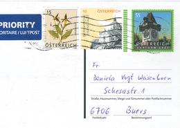 Ganzsache Graz Uhrturm Frauenschuh Bergkirche Eisenstadt - 1945-.... 2a Repubblica