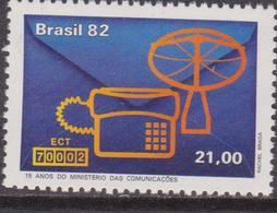 Brasile 1882 Telecom Set MNH - Brasile