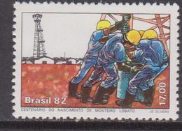 Brasile 1882 Worker Set MNH - Brasile