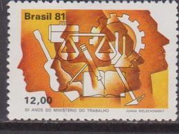 Brasile 1981 Worker Set MNH - Brasile