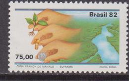 Brasile 1982 River Set MNH - Brasile
