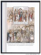 Congiunta/Joint Issue Slovacchia 2013  **/MNH VF - Vatikan