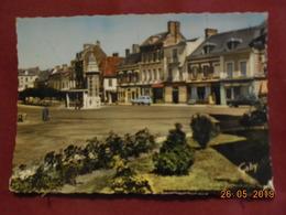 CPSM GF - Saint-André-de-l'Eure - Les Jardins De L'Eglise Et La Rue Du Chanoine Boulogne (1965) - Francia