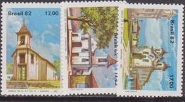 Brasile 1982 Chiese Churches Set MNH - Brasile