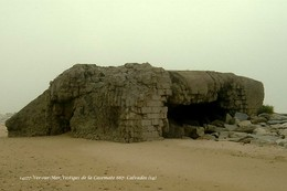Ver-sur-Mer (14)- Vestiges De La Casemate 667 (Edition à Tirage Limité) - France
