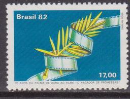 Brasile 1982 Mouvi Cinema Set MNH - Brasile
