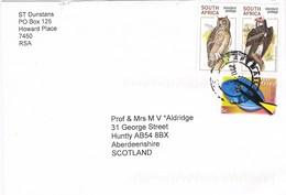 33041. Carta Aerea HOWARD PLACE (Capetown) 2010. Birds Stamp - Afrique Du Sud (1961-...)