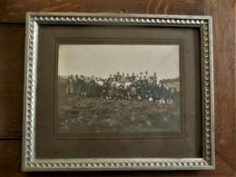 Antieken Originele Groeps Foto  (tijdens De Oogst )  Photo VAN GEERTRUYEN  ASSCHE - Personnes Identifiées