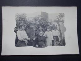 Carte Postale  - Photo Groupe Homme Femmes Enfants - (2826) - Photographie