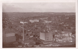 RPPC REAL PHOTO POSTCARD TROY NY - Other