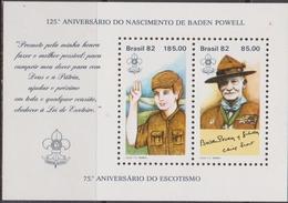 Brasile 1982 Scout Sheet Mnh - Brasile