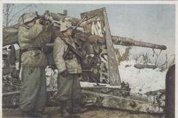 Germany WWII Wehrmacht - Schwere Flak , Heavy Canon Artillery , Tank Panzer Destroyer - Guerra 1939-45