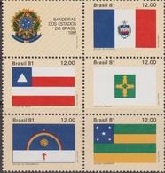 Brasile 1981 Flags Mnh - Brasile