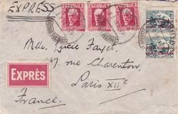 Republica Espanola Correos Madrid>Paris 1931 - 1931-Today: 2nd Rep - ... Juan Carlos I