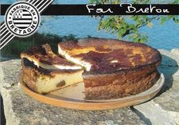 RECETTES DE CUISINE - FAR BRETON - RECETTE AU DOS DE LA CARTE - VOIR LA PHOTO - CPM - VIERGE - - Recettes (cuisine)