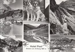 79508- STUBEN AM ARLBERG- SKI RESORT, PASS, HOTELS, MOUNTAINS, DOGS - Stuben