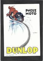 Publicité Moto Motor DUNLOP Par Géo Ham - Motos