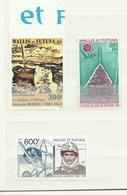 Wallis Et Futuna, Non Dentélé, Unperforated P.A. 42, 115, 160 Cote YT 80€ - Imperforates, Proofs & Errors