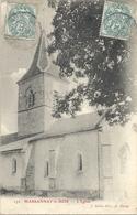 CPA Marsannay-le-Bois L'Eglise - Other Municipalities