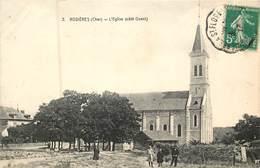 18 Cher :  Rosières  L'église Côté Ouest  Réf 6530 - Autres Communes