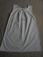 Ancienne Combinaison En Coton Pour Femme Monogramme LC Années 40 - 1940-1970