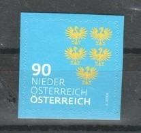 """Österreich 2018: """"WAPPEN- Niederösterreich""""  Postfrisch (siehe Foto/Scan) - 2011-... Ungebraucht"""