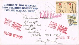 33049. Carta Aerea LOS ANGELES (California), Express, Especial Delivery - Cartas