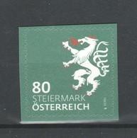 """Österreich 2018: """"WAPPEN- Steiermark""""  Postfrisch (siehe Foto/Scan) - 2011-... Ungebraucht"""