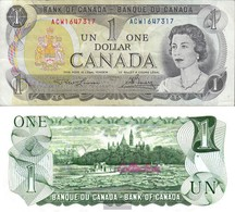 Canada Pick-number: 85a Used (III) 1973 1 US Dollars - Canada