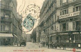 75  PARIS 9e AR   SERIE TOUT PARIS RUE BALIN - Arrondissement: 09