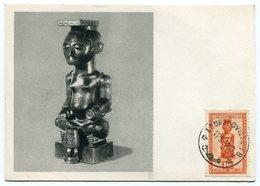 RC 12841 CONGO BELGE 1952 CARTE PLASMARINE PUBLICITÉ ADRESSÉE AUX MEDECINS - 1947-60: Lettres