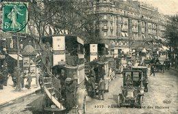 75  PARIS 9e AR   BD DES ITALIERS ANIME - Arrondissement: 09
