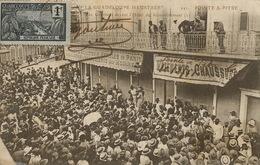 Grève à La Guadeloupe Pointe à Pitre  Voyagé Timbrée - Grèves
