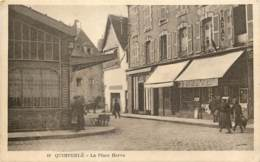 29 - QUIMPERLE - La Place Hervo - Tabac En 1930 - Quimperlé