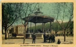 30 - LA GRAND'COMBE - Kiosque à Musique - La Grand-Combe