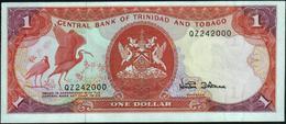 TRINIDAD & TOBAGO - 1 Dollar C.a.1985 {sign. W. Dookeran} UNC P.36 D - Trinidad & Tobago