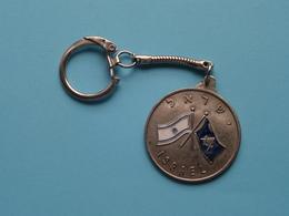 ISRAEL ( Key Chain - Porte Clé / Sleutelhanger / See > Zie - Voir Photo ) ! - Porte-clefs