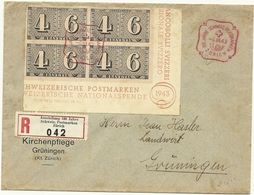 PREMIER JOUR SUISSE 1943 - Timbres