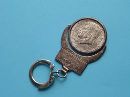 LIBERTY 1964 > HALF DOLLAR - GOOD LUCK ( Key Chain - Porte Clé / Sleutelhanger / See > Zie - Voir Photo ) ! - Porte-clefs