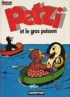 Petzi  N° 4 - Petzi Et Le Gros Poisson- Casterman - ( 1985 ) . - Petzi