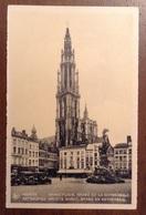 Anvers Grand Place Brabo Et La Cathedrale - Antwerpen