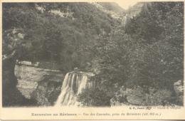 CPA - EXCURSION AU HERISSON - VUE DES CASCADES, PRISE DU BELVEDERE - France