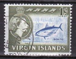 British Virgin Islands 1964 Queen Elizabeth Single 1 Cent Stamp From The Definitive Set. - British Virgin Islands